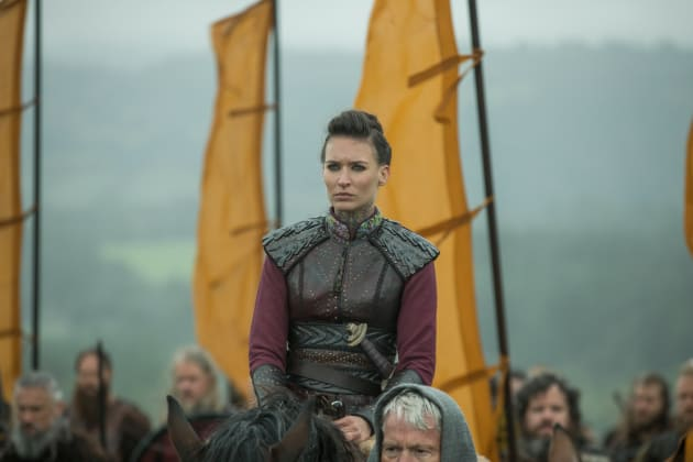 Astrid Joins the Battle - Vikings Season 5 Episode 7