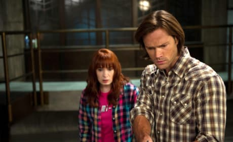 Charlie and Sam Winchester