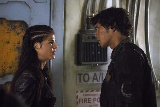 Octavia Confronts Bellamy - The 100 Season 3 Episode 5