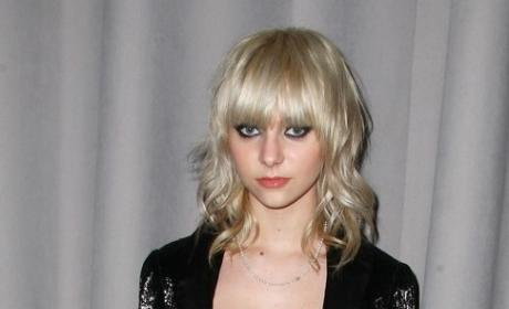 Taylor Momsen at Fashion Week