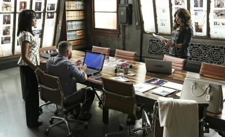 Olivia, Quinn, and Huck Take a Case - Scandal Season 4 Episode 8