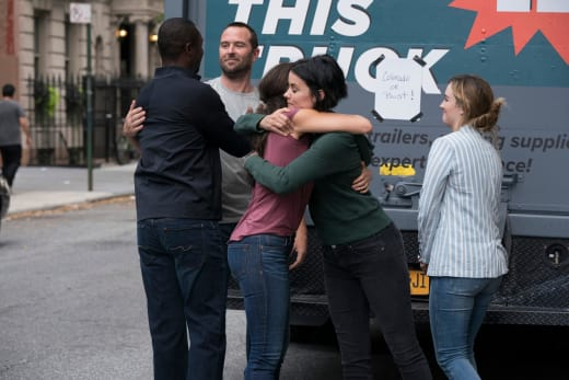 The Team Says Goodbye - Blindspot Season 3 Episode 1