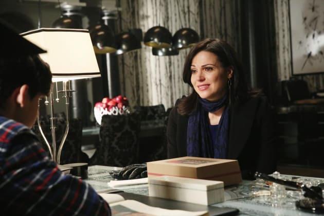 Making Regina Smile - Once Upon a Time Season 4 Episode 14