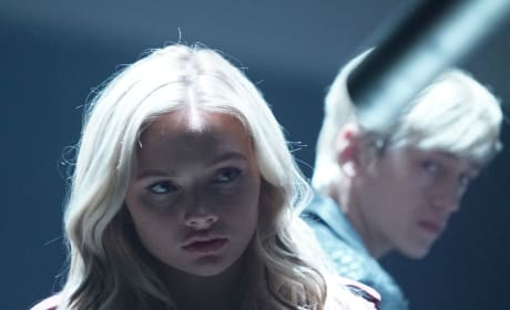 Andy and Lauren Together - The Gifted Season 2 Episode 6
