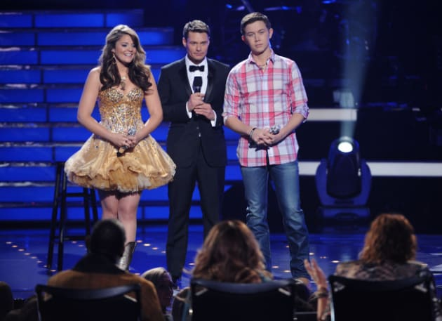 Lauren Alaina and Scotty McCreery Photo