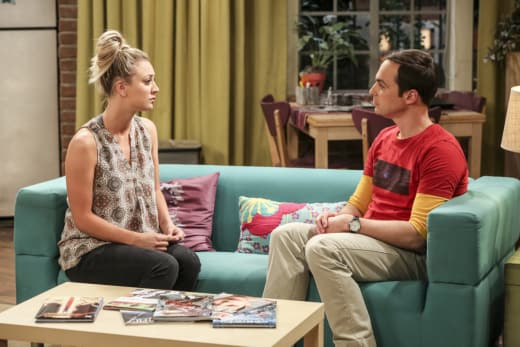 Penny Gives Sheldon Advice - The Big Bang Theory Season 10 Episode 24