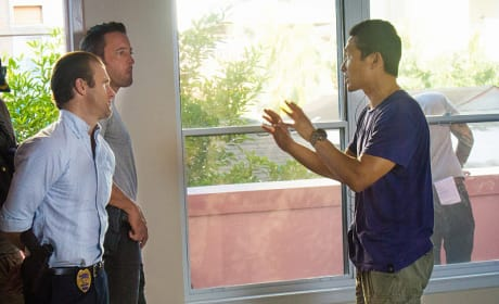 Intense Discussion - Hawaii Five-0 Season 5 Episode 17
