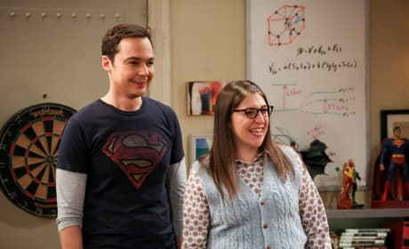 Kicking Off Amy - The Big Bang Theory