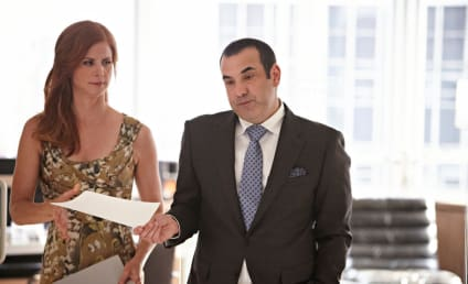 Sarah Rafferty and Rick Hoffman Tease Return of Suits, Spilling That Secret