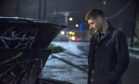 Dean Takes a Look in the Trunk