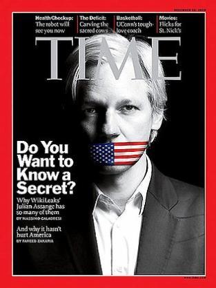 Julian Assange on Time