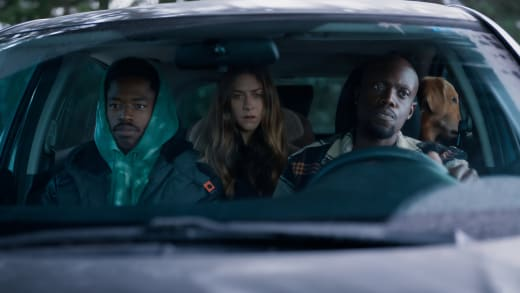 Riding in Cars with Her Boys  - In The Dark Season 3 Episode 4