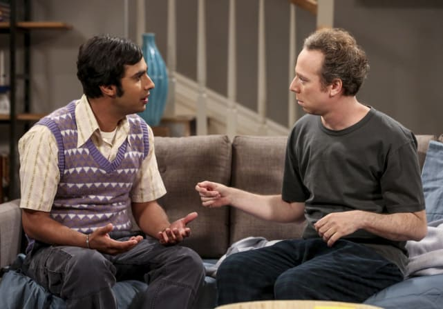 Raj and Stuart Have a Chat - The Big Bang Theory Season 10 Episode 18