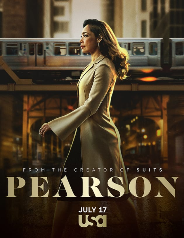 Pearson Poster - Suits