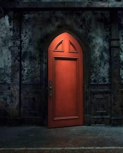 A Spooky Door