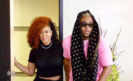 A1 & Lyrica Attend a Meeting - Love & Hip Hop: Hollywood