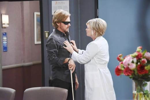 Dealing With Blindness Together - Days of Our Lives