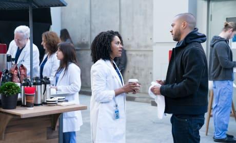 Important Talk  - Grey's Anatomy Season 14 Episode 15