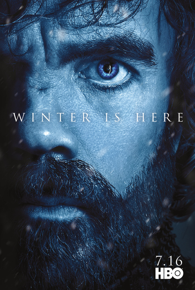 Tyrion Lannister Season 7 Poster - Game of Thrones - TV ...