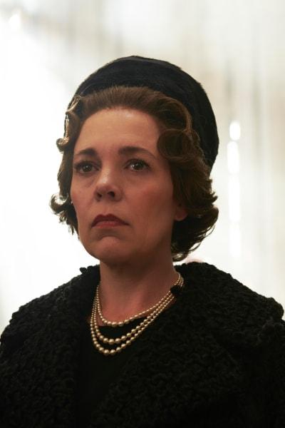 Olivia Colman is Queen Elizabeth