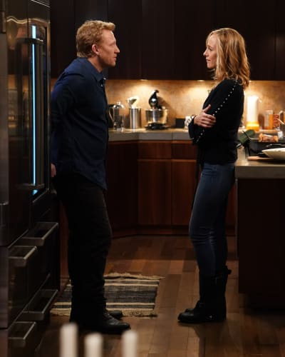 Tension at Home  - Grey's Anatomy Season 16 Episode 17