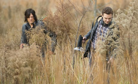 Aaron and Daryl - The Walking Dead Season 5 Episode 16