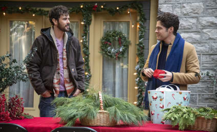 The Christmas Setup Review: Lifetime Strikes Gold with Its First Queer Holiday Romance!
