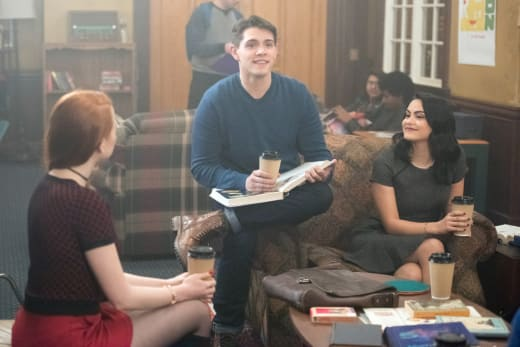 Coffee First, Plotting Second - Riverdale Season 1 Episode 8