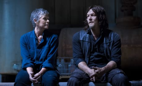 Carol and Pookie - The Walking Dead Season 9 Episode 1