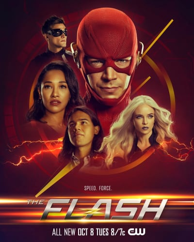 The Flash Season 6 Poster