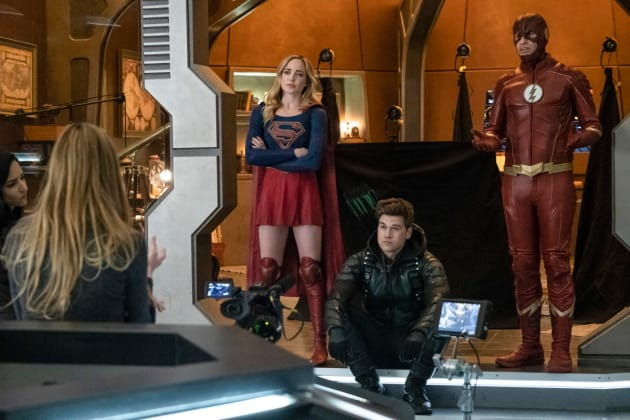 Outside the Box - DC's Legends of Tomorrow