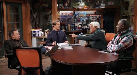 Chuck, Kyle, Mike, Joe - Last Man Standing Season 7 Episode 8
