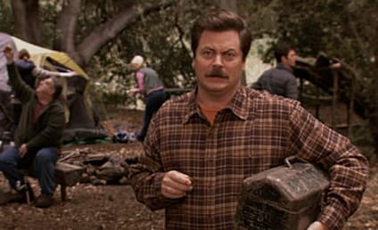 Parks and Recreation Review: Gone Camping
