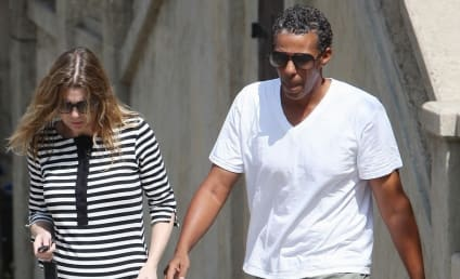 Ellen Pompeo Shows Her Stripes