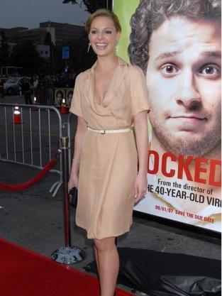 Katherine Heigl at Knocked Up Premiere