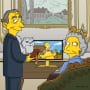 The Queen on The Simpsons