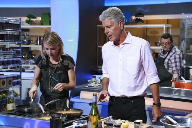 Anthony Bourdain Mentors Vanessa - The Taste Season 3 Episode 2