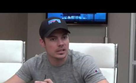 Josh Henderson Set Interview