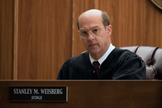 Judge Stanley Weisberg - Law & Order True Crime: The Menendez Brothers Season 1 Episode 1