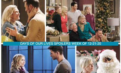Days of Our Lives Spoilers Week of 12-21-20: Five Days of Christmas!