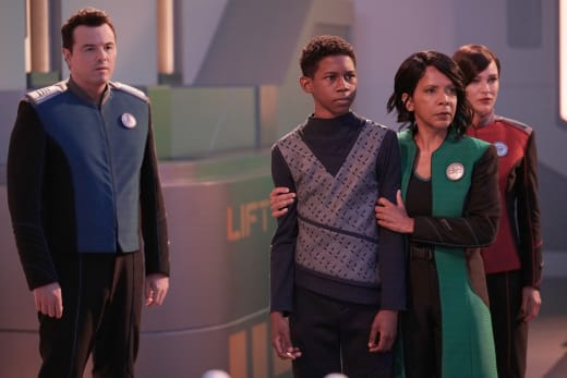 The Captain and the Finns - The Orville Season 2 Episode 9