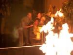 Carter & Jo Battle Flames