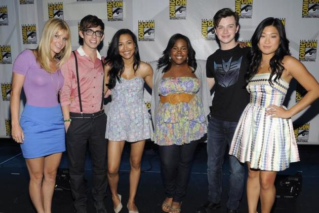 Glee at Comic-Con