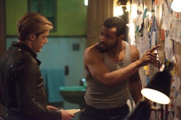 Luke and Jace - Shadowhunters Season 3 Episode 11