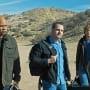 Sam, Callen and Deeks Arrive in Afghanistan