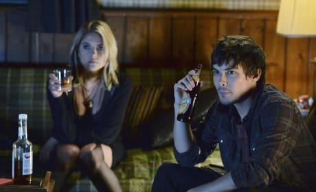 Getting Their Drink O