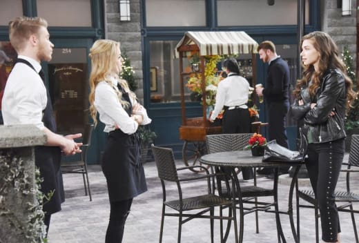 Confronting A Liar - Days of Our Lives