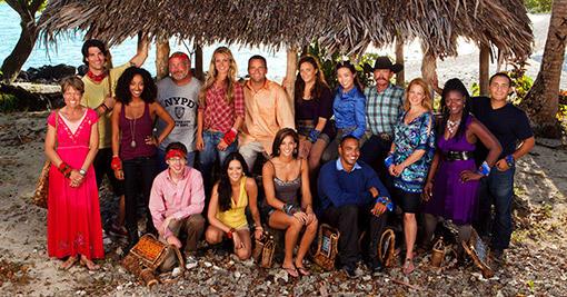 Survivor: South Pacific Cast Pic