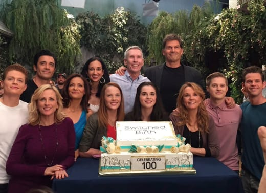 SAB Goodbye Cake