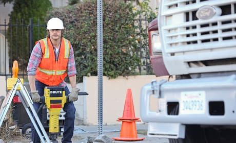 Deeks Undercover as a Construction Worker